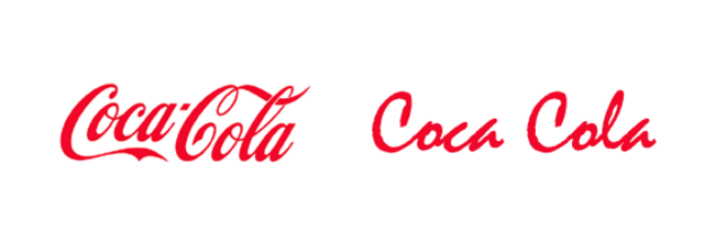 Coca Cola logo reworked