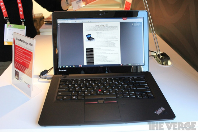 Gallery Photo: Lenovo ThinkPad T430u hands-on