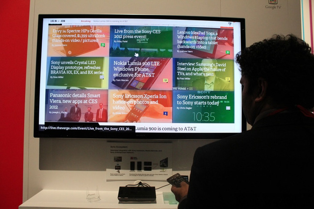 Gallery Photo: Sony Google TV hands-on
