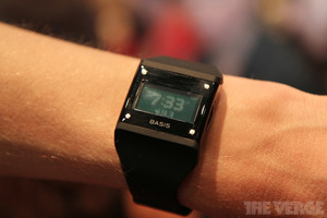 Gallery Photo: Basis B1 health band close-up pictures