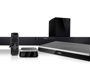 Vizio Blu-ray player, audio dock, soundbar
