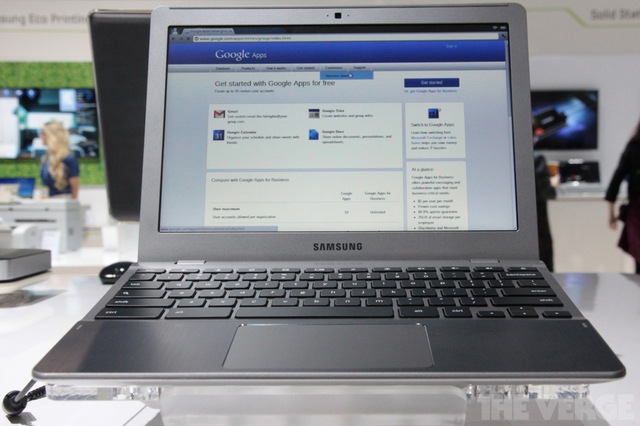 Gallery Photo: Samsung new Series 5 Chromebook hands-on photos
