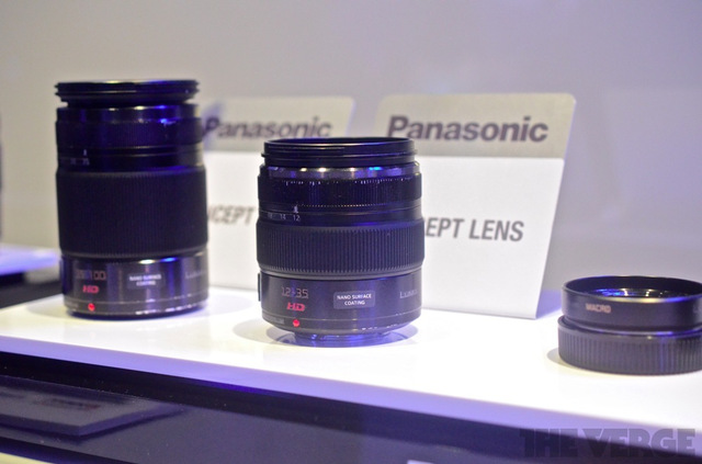 Panasonic concept lenses