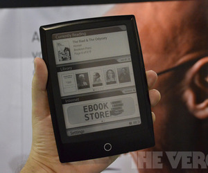 Gallery Photo: Bookeen Cybook Odyssey e-reader hands-on photos