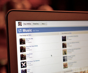 facebook music timline