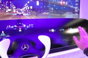 Mercedes-Benz Concept Dashboard