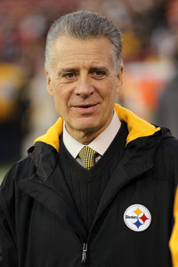 SAN FRANCISCO, CA - DECEMBER 19:  Pittsburgh Steelers President and co-owner Art Rooney II is seen before the game against the San Francisco 49ers at Candlestick Park on December 19, 2011 in San Francisco, California.  (Photo by Karl Walter/Getty Images)