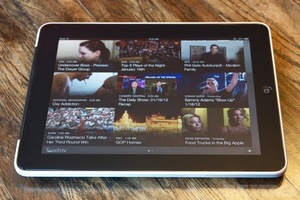 TouchTV iPad app