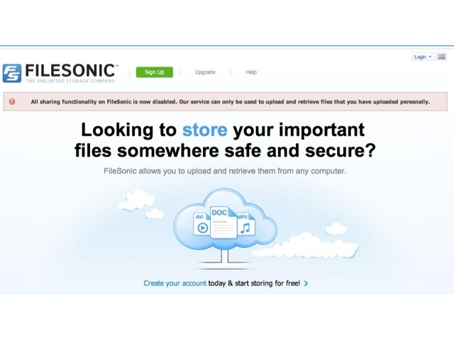 Filesonic