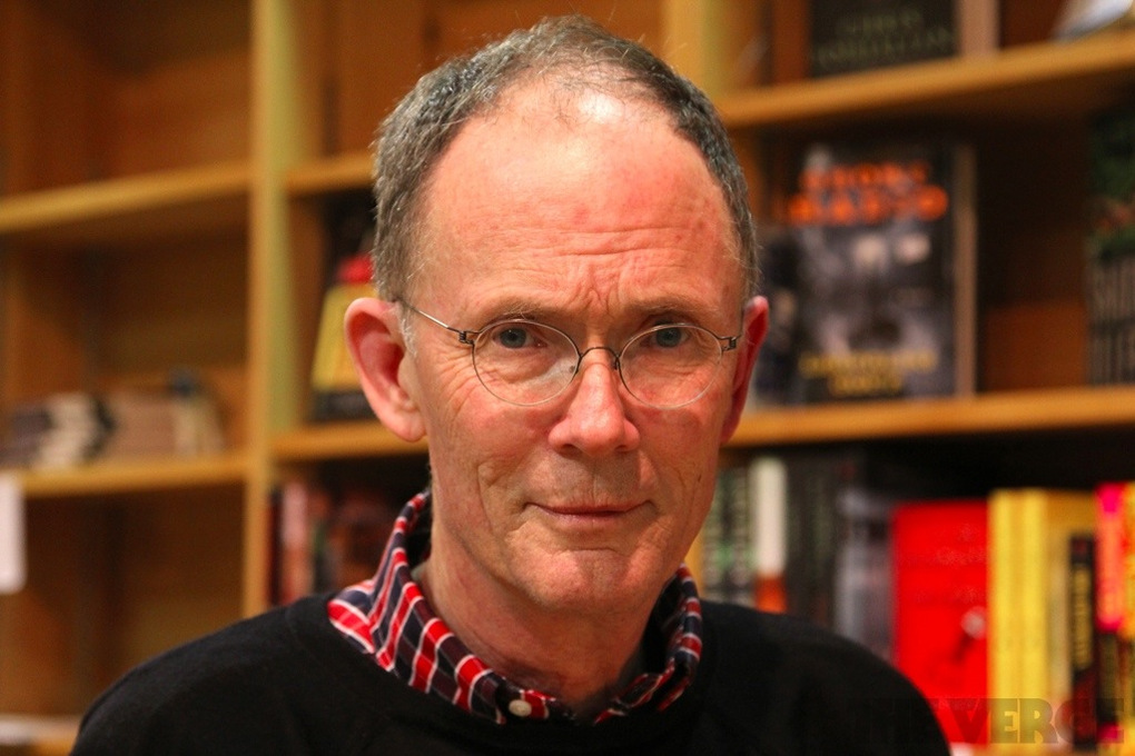 William Gibson front portrait