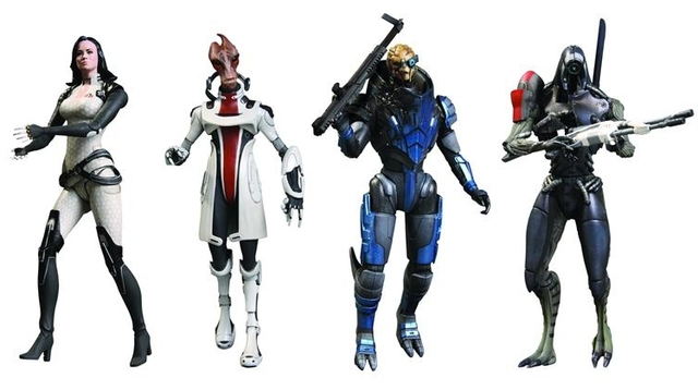 Mass Effect 3 action figures
