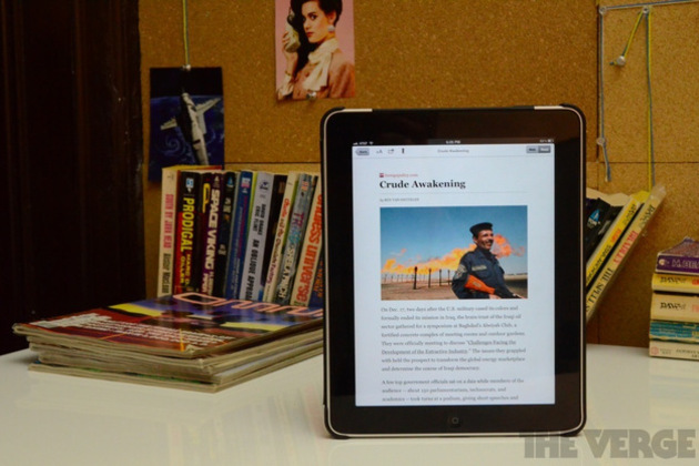 Gallery Photo: Longform iPad app pictures
