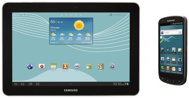 US Cellular Galaxy Tab 10.1 and Galaxy S Aviator