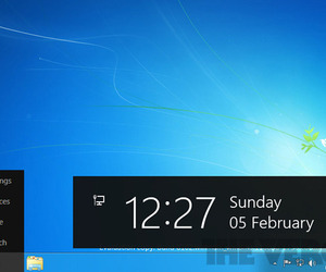 Windows 8 developer preview desktop