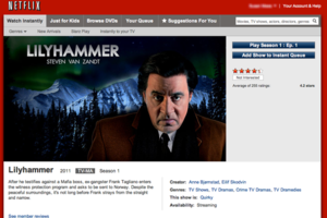 Lilyhammer Netflix