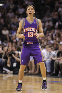 Who can forget this, as Nash only required one open eye in game 4 to help the Suns complete the sweep of the Spurs in 2010?