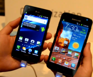 Galaxy SII AT&T, Sprint Galaxy S II Epic 4G Touch hands-on