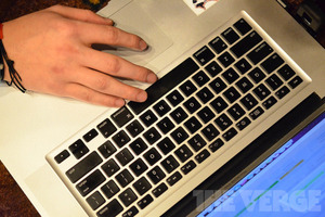 QWERTY keyboard Mac stock (1020)