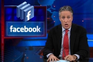 Jon Stewart Facebook daily show