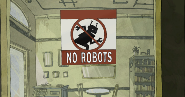 no robots