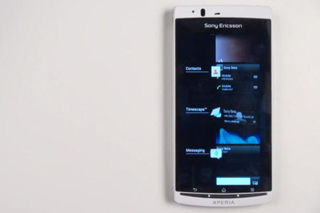 Sony Xperia Ice Cream Sandwich Beta ROM 640