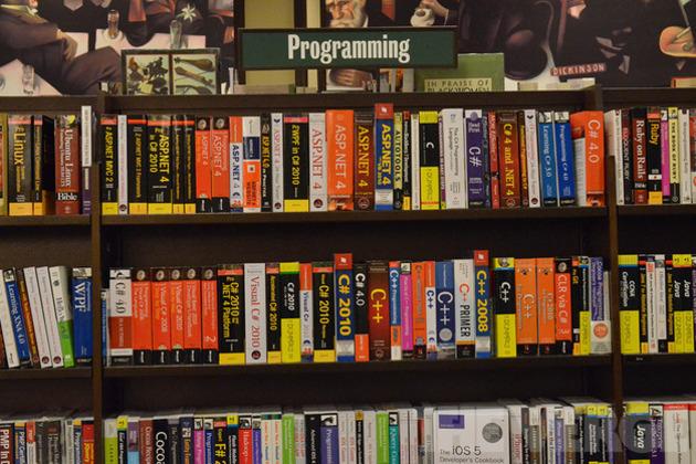 Programming bookshelf (1020)
