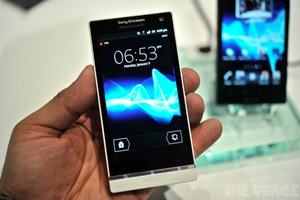 Gallery Photo: Sony Xperia S hands-on