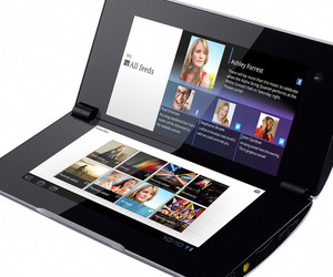 Sony Tablet P press