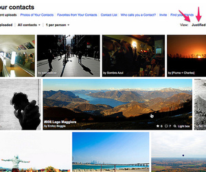 Flickr justified view