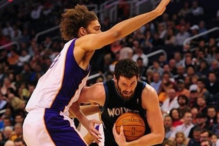 Robin Lopez played strong defense tonight. And also, there's a lot of hair in this picture.