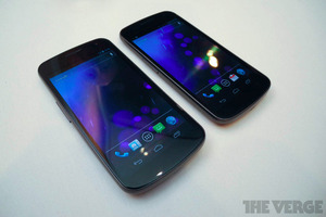 Galaxy Nexus Sprint hands-on