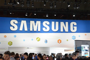 Samsung logo, ces (1020)