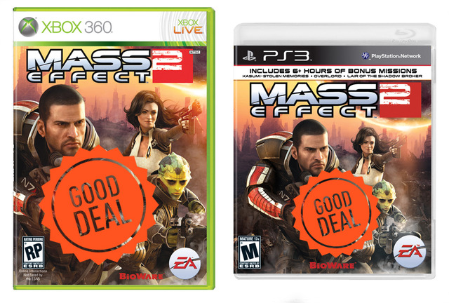 Mass Effect 2 Xbox 360 PS3 good deal