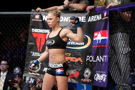 The former Olympic Judo medalist began her amateur mixed martial arts (MMA) ...