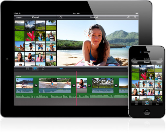 Gallery Photo: New iMovie photos from Press Release