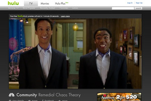 Hulu and NBC Community