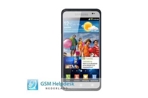 Galaxy S3 padded leak
