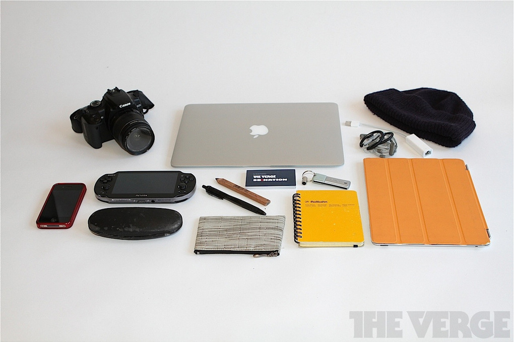 What's in your bag, Chris Grant?