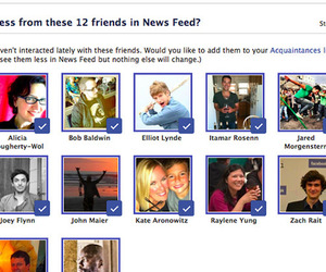 facebook acquaintance list