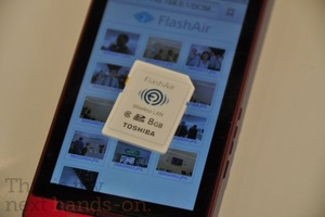 Toshiba FlashAir SDHC card