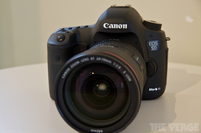 Gallery Photo: Canon EOS 5D Mark III hands-on photos