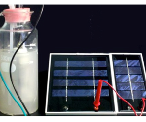 Solar fuel creation
