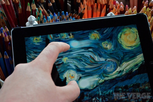 Starry Night interactive for iPad