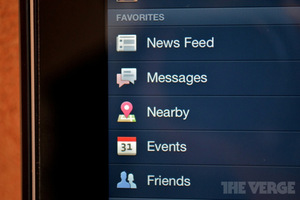 facebook for ipad retina update