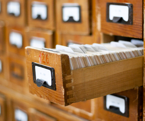 card catalog shutterstock
