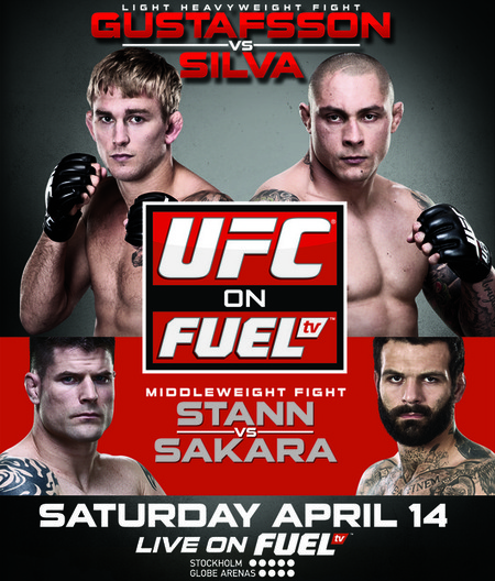 UFC on FUEL TV: Gustaffson vs. Silva Recap