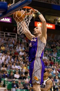 Gortat DID wrestle that 9th seed away from Utah and stuffed it in their grill!Russ Isabella-US PRESSWIRE