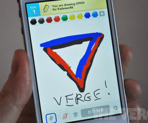 Verge Draw Something stock