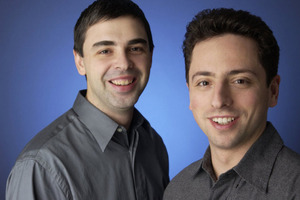 Larry Page Sergey Brin