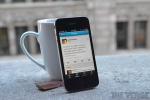 Twitter Redesign iPhone app